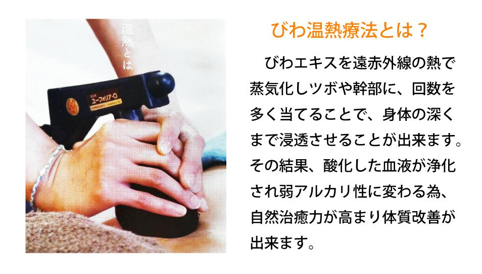 「びわ温熱療法」8月19日(金)開催1